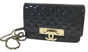 Chanel Woc Golden Glass Cross Body Bag