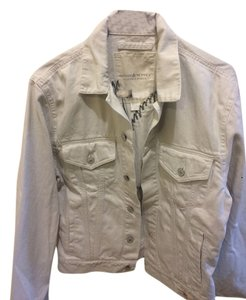 Ralph Lauren White wash Womens Jean Jacket