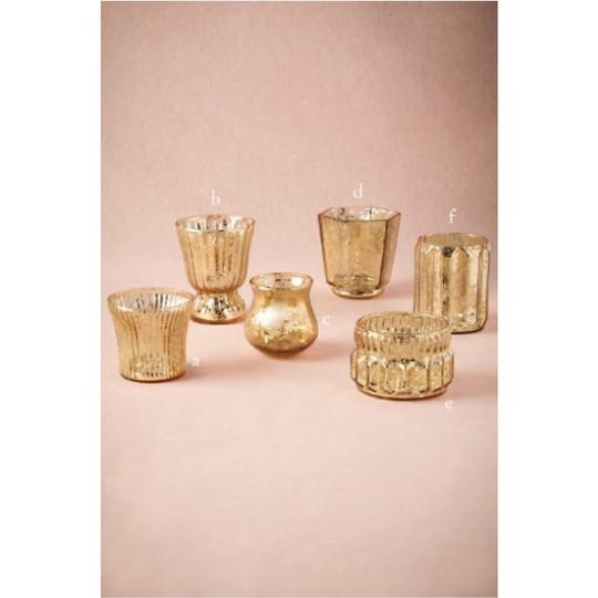 BHLDN Gold 55 Mercury Glass Votive/Candle Image 0