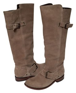 DV by Dolce Vita Taupe Suede Boots