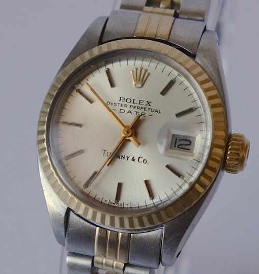 Rolex Limited Edition Tiffany & Co. Women's Oyster Perpetual Datejust Rolex