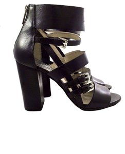 Michael Kors Vintage Gladiator Heels Black Sandals