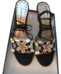 Hollywould Black beige sea shells Pumps
