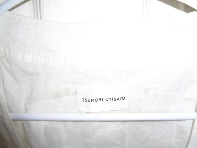 Tsumori Chisato Button Down Shirt White