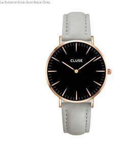 Cluse Cluse La Boheme Rose Gold Watch with Dual Straps
