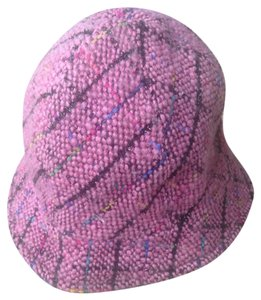 Misaharada Misaharada Pink Multi Colored Hat