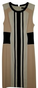 BCBGMAXAZRIA Eloise Color-blocking Sheath Dress