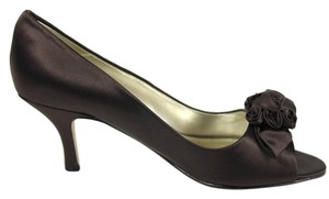 Caparros Silk Chocolate/Brown Pumps