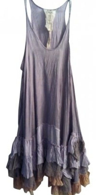 Preload https://item1.tradesy.com/images/free-people-lavender-ruffle-crinkle-short-casual-dress-size-12-l-5940-0-0.jpg?width=400&height=650