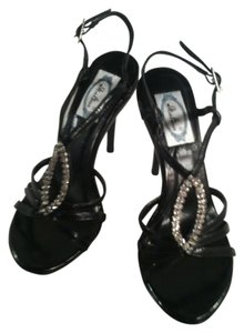 Italina Strappy Open Toe Sandal Black Sandals