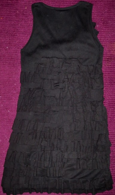 J.Crew short dress Black Lbd Tier Everyday Day To Night on Tradesy