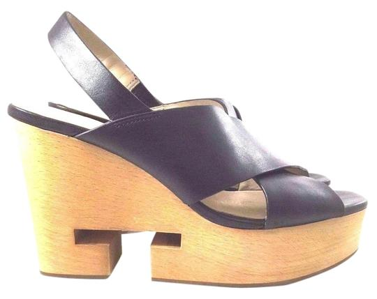 Tory Burch Leather Black Sandals