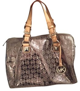 Michael Kors Satchel in Gunmetal