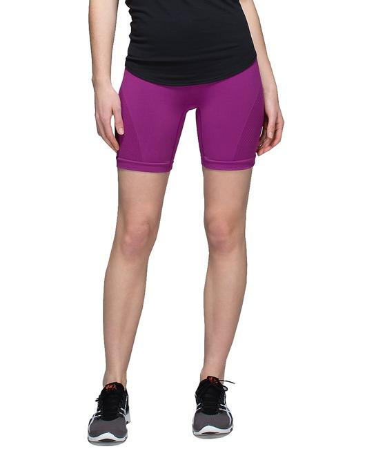 Lululemon Lululemon Groove Shorts *Full-On Luon Size 4 Plum