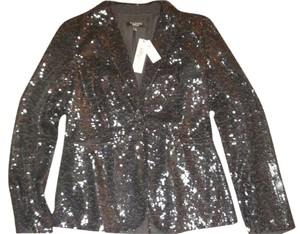 Talbots black sequined Blazer