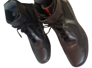 Men's Prada Shoes Black Athletic
