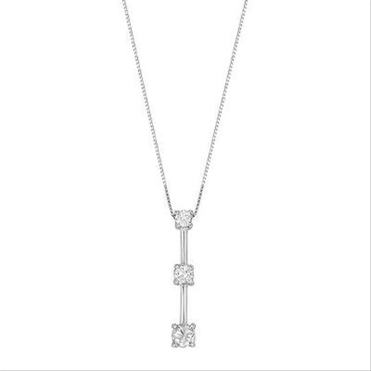 Preload https://item5.tradesy.com/images/other-14k-white-gold-025-cttw-diamonds-three-stones-pendant-womens-necklace-5941384-0-0.jpg?width=440&height=440