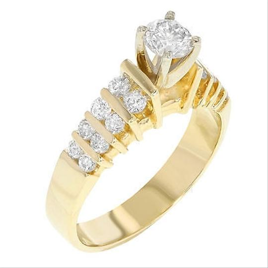 Other 14k Yellow Gold 0.97 Cttw Diamonds Engagement Womens Ring