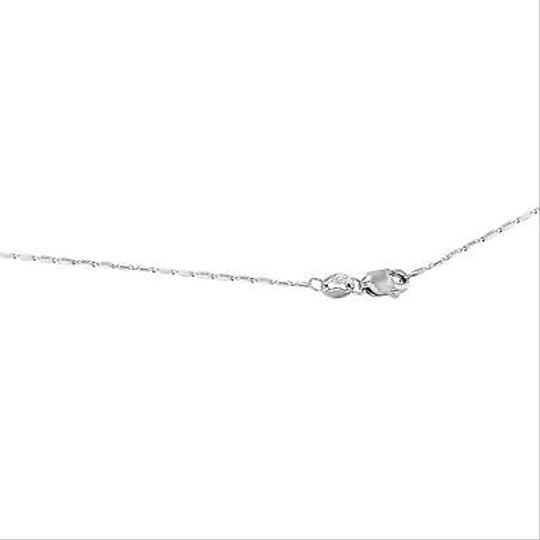 Other 14k White Gold 0.5 Cttw Diamonds Circle Journey Pendant Womens Necklace