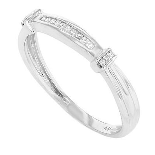 Other 14k White Gold 0.25 Cttw Princess Cut Diamonds Womens Band Ring