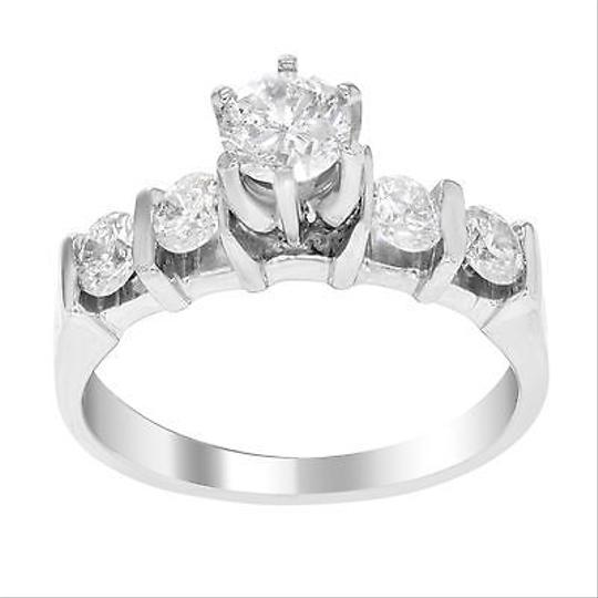 Other 14k White Gold 1 Cttw Diamonds Engagement Womens Ring