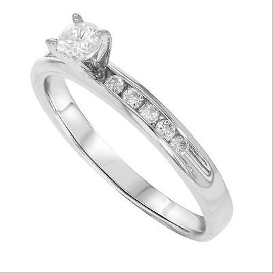 Other 14k White Gold 0.50 Cttw Diamonds Engagement Womens Ring