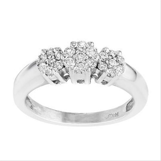 Preload https://item3.tradesy.com/images/other-14k-white-gold-025-cttw-diamonds-cluster-womens-ring-5941957-0-0.jpg?width=440&height=440
