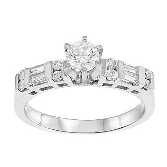 Preload https://item3.tradesy.com/images/other-14k-white-gold-058-cttw-round-baguette-cut-diamond-womens-engagement-ring-5942152-0-0.jpg?width=440&height=440