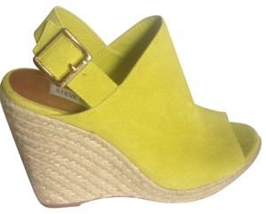 Steve Madden Green Wedges
