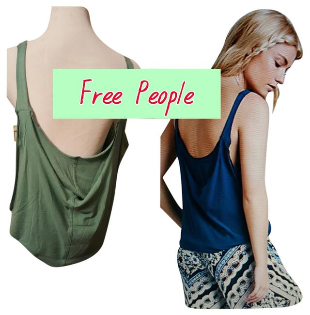 Free People Top green