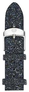 Michele Michele 16mm Dark Blue Crystal Watch Band Strap MS16AN620401