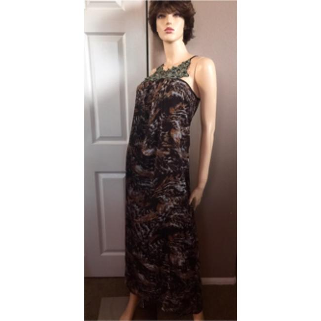Brown Maxi Dress by Romeo & Juliet Couture