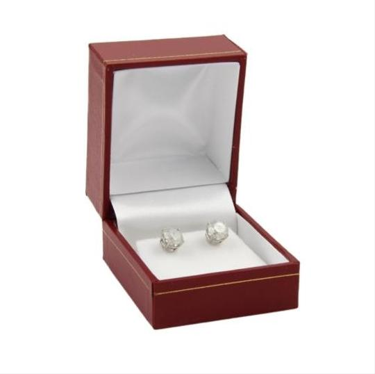 Other 14k White Gold 2.32ct Round Cut Diamond Stud Earrings