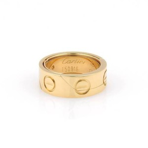 Cartier Cartier 18k Yellow Gold Astro Secret Love Ring - - 5.25