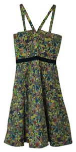 Viola short dress Multi Anthropologie Colorful Buttons Vest on Tradesy