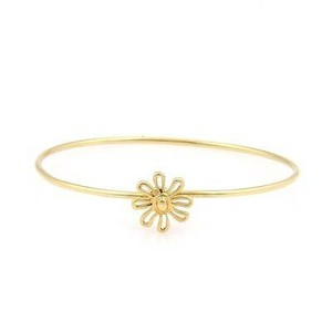 Tiffany & Co. Tiffany Co. Paloma Picasso 18k Yellow Gold Daisy Bangle Bracelet