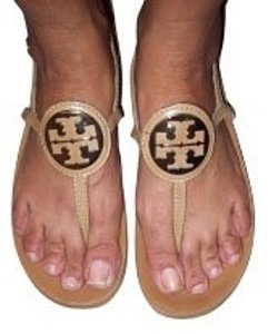 Tory Burch Beige/gold Sandals