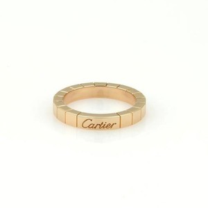 Cartier Cartier 18k Rose Gold Lanier 3mm Band Ring Eu 50-us 5.25