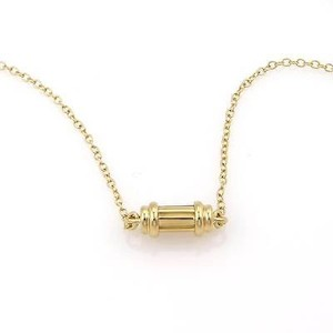 Tiffany & Co. Tiffany Co. 18k Yellow Gold Scroll Pendant Necklace