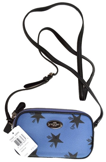 Preload https://item2.tradesy.com/images/coach-f53428-star-canyon-pouch-limited-edition-blue-pvc-cross-body-bag-5951191-0-2.jpg?width=440&height=440