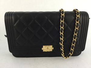 Chanel Le Boy Woc Wallet Cross Body Bag
