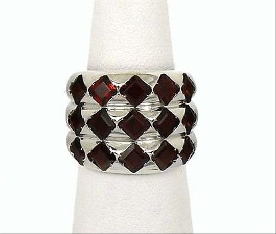 Preload https://item4.tradesy.com/images/other-designer-signed-18k-gold-55ctw-princess-cut-garnet-ladies-wide-band-ring-italy-5951578-0-0.jpg?width=440&height=440