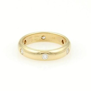 Cartier Cartier 18k Yellow Gold Stella 4mm Diamond Band Ring -