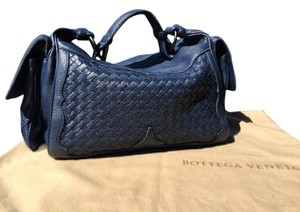 Bottega Veneta Cervo Deer Skin Woven Hobo Bag