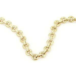Cartier Cartier 18k Yellow Gold Forcat Chain Link Necklace 16 Long