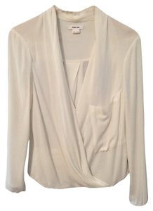 Helmut Lang Top Optic white