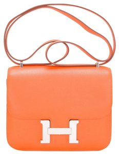 Hermès Constance Mini Orange 18cm Shoulder Bag
