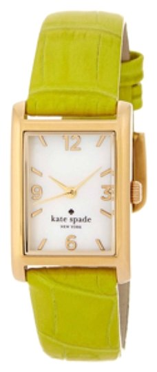 Kate Spade REDUCED! Croc Embossed Leather Strap Watch