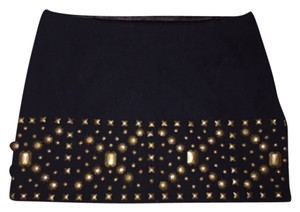 LaROK Micro-mini Mini Mini Skirt Black