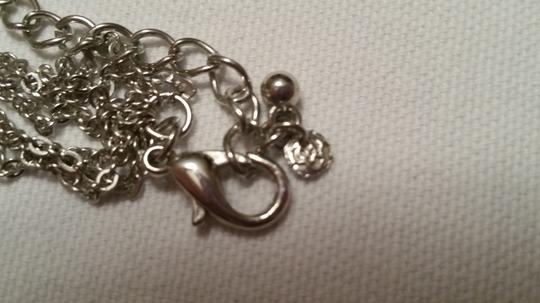 Other Silver Necklace with Five Interlocking Circles